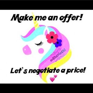 Other - Make a reasonable offer & we'll go from there! 💜